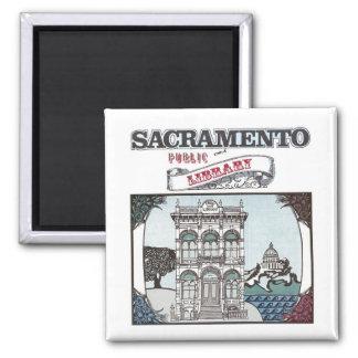 Sacramento Public Library Magnet