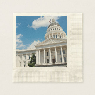 Sacramento State Capitol of California Disposable Napkin