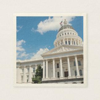 Sacramento State Capitol of California Disposable Napkins