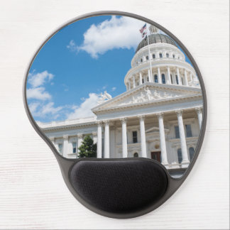 Sacramento State Capitol of California Gel Mouse Pad