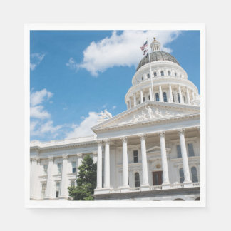 Sacramento State Capitol of California Paper Napkin