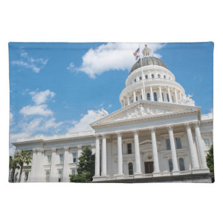 Sacramento State Capitol of California Placemat