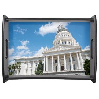 Sacramento State Capitol of California Serving Tray