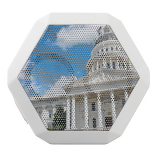 Sacramento State Capitol of California White Bluetooth Speaker