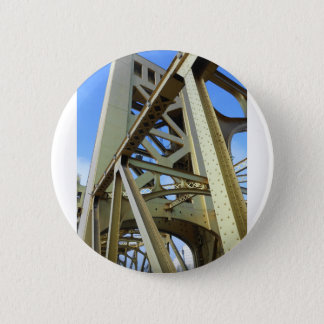 Sacramento Tower Bridge 2 Inch Round Button