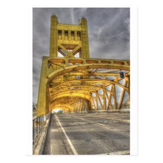 Sacramento Tower Bridge Postcard