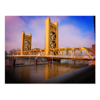 Sacramento Tower Bridge Postcard
