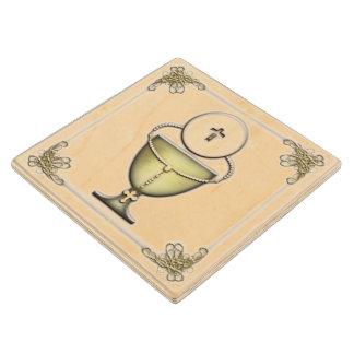 Sacraments Wood Coaster