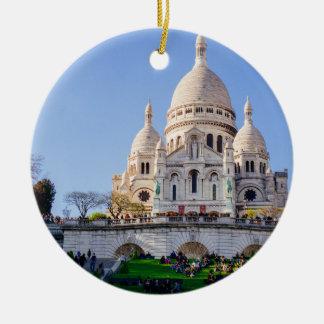 Sacre Coeur Basilica, French Architecture, Paris Ceramic Ornament