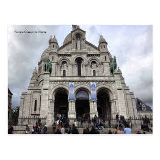 Sacre Coeur in Paris Postcard