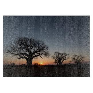 Sacred Baobabs Cutting Board