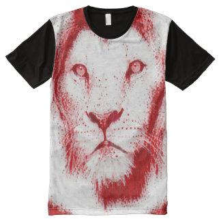 Sacred Blood Lion Spirit Painting