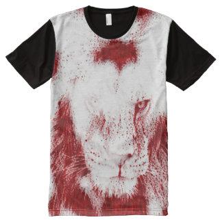 Sacred Blood Lion Wildlife Art Graphic Tee