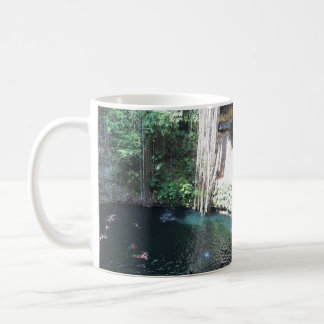 Sacred Blue Cenote, Ik Kil, Mexico #2 Mug