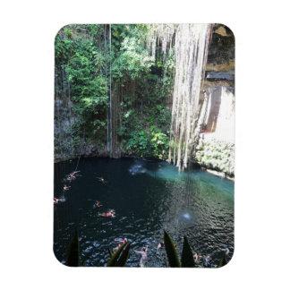 Sacred Blue Cenote, Ik Kil, Mexico #2 Photo Magnet
