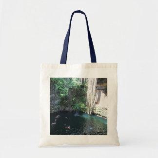 Sacred Blue Cenote, Ik Kil, Mexico #2 Tote Bag