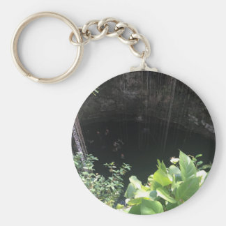 Sacred Blue Cenote, Ik Kil, Mexico #3 Keychain