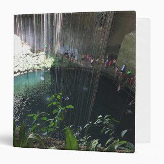 Sacred Blue Cenote, Ik Kil, Mexico Binder