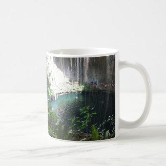 Sacred Blue Cenote, Ik Kil, Mexico Mug