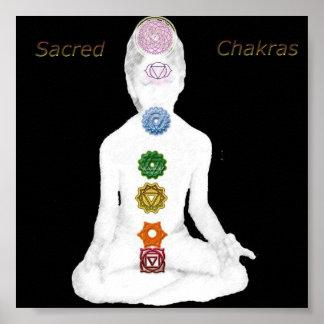 Sacred Chakras Poster