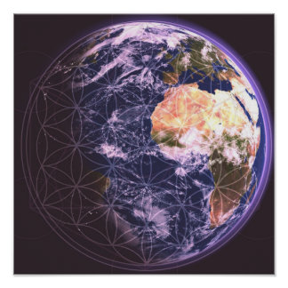 Sacred Earth Poster