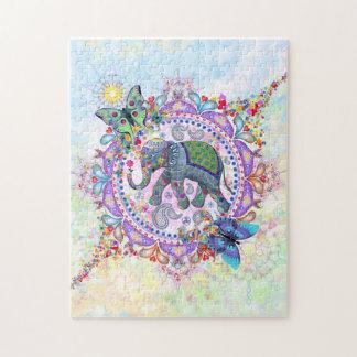 Sacred Elephant Jigsaw Puzzle