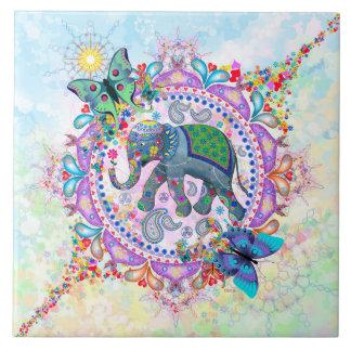 Sacred Elephant Tile