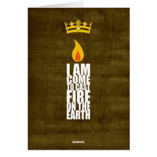 Sacred Flame Card