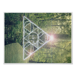 Sacred Forest Poster