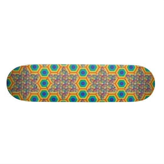 sacred g custom skateboard