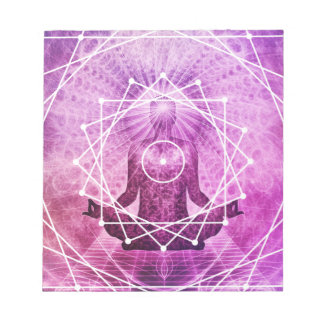 Sacred Geometry Astral Meditation Notepad