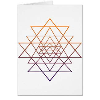 Sacred Geometry Greeting Cards