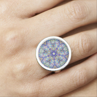 "Sacred Geometry ""Cheers"" Ring by MAR"