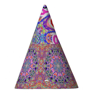 "Sacred Geometry ""Clowns"" Party Hat by MAR"