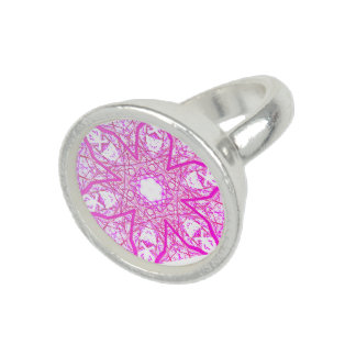 """sacred Geometry """"Cosmos Flower"""" Ring by MAR"""