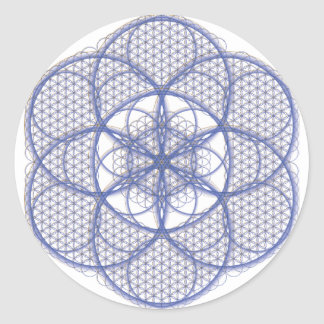 Sacred Geometry - Flower of Life Sticker
