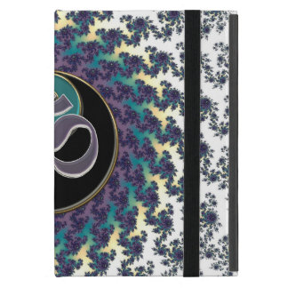 Sacred Geometry Fractal with Yin-Yang and OM Cover For iPad Mini