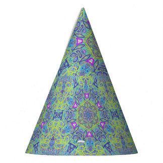 "Sacred Geometry ""Funny Clown"" Party Hat by MAR"
