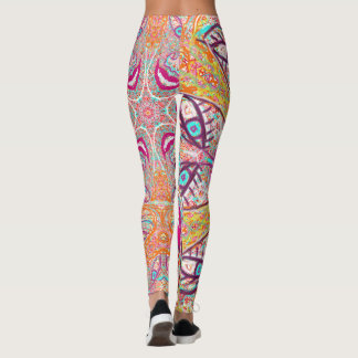 "Sacred Geometry ""Happy"" Leggings by MAR"