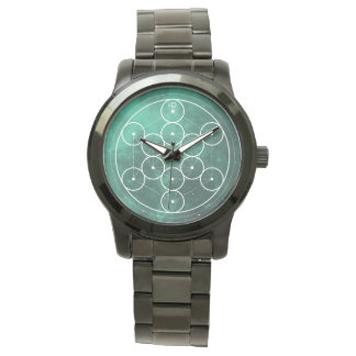SACRED | geometry hexagon and circles Watch