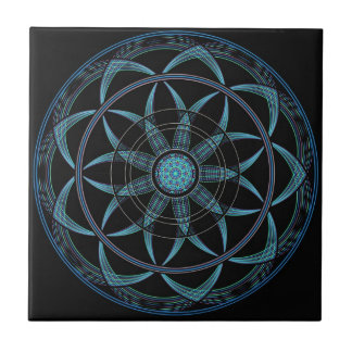 Sacred Geometry Mandala - Bliss Tiles