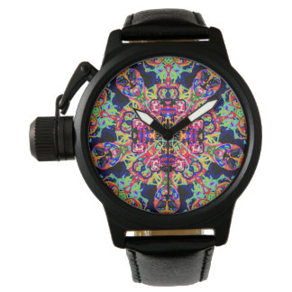 "Sacred Geometry ""Mexicana"" Watch  by MAR"