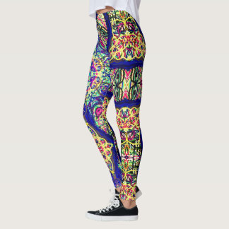 "Sacred Geometry ""Petra"" by Mar Leggings"