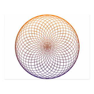Sacred Geometry Postcard