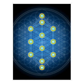 Sacred geometry post cards