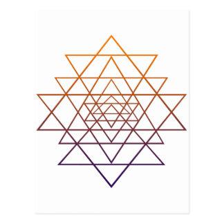 Sacred Geometry Postcards