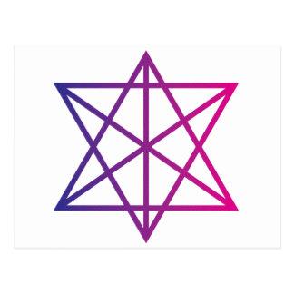 Sacred Geometry Post Card