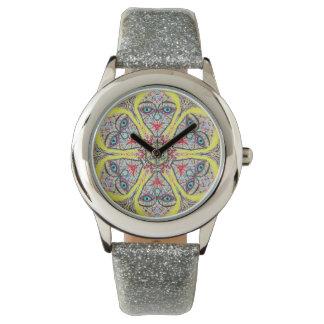 "Sacred Geometry ""Princess"" Watch  by MAR"