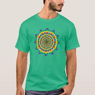 Sacred Geometry - Rainbow Mandala T-Shirt