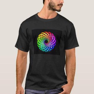 Sacred Geometry - Rainbow Toroid II T-shirt